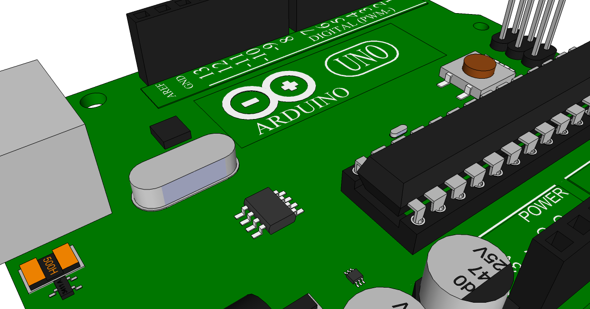 Arduino uno in sketchup progress engineer zero