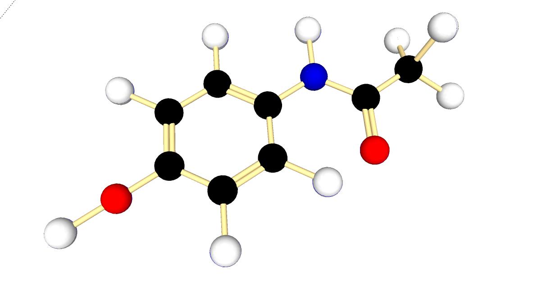 Paracetamol Molecule Stock Photo, Royalty Free Image: 40085049 - Alamy