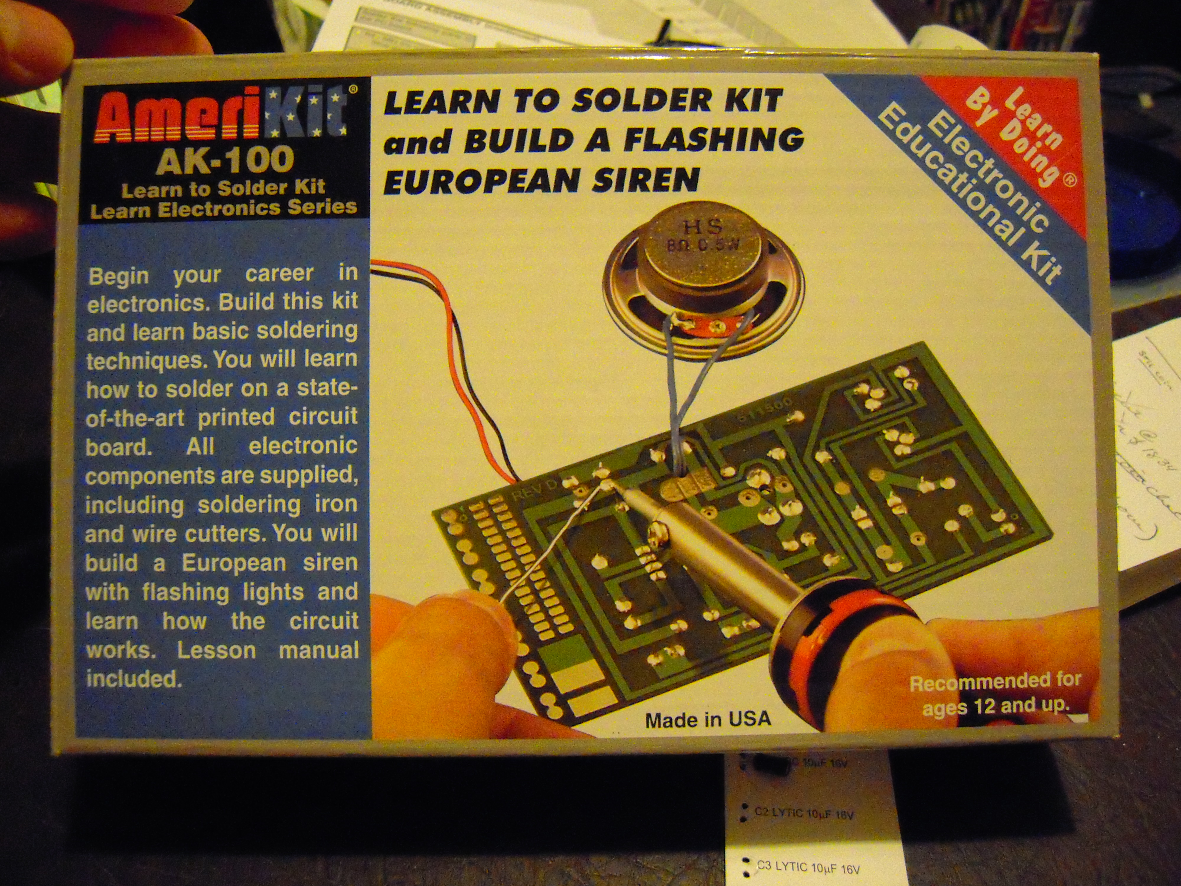 Elenco Amerikit Learn To Solder Kit Review Engineer Zero Best Iron For Circuit Boards I Got This Because Wanted Brush Up On My Soldering Skills