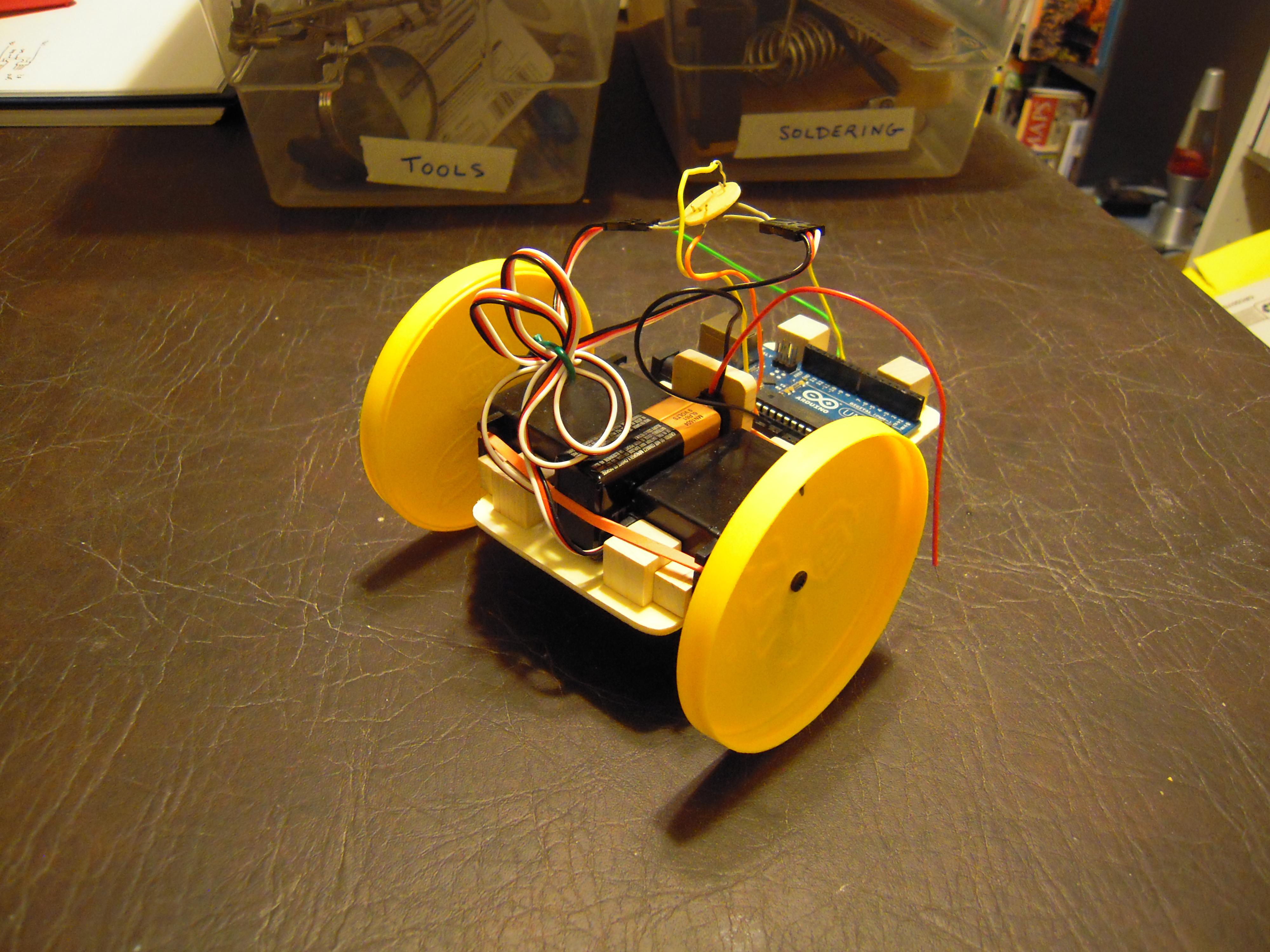 Budget arduino robot project engineer zero