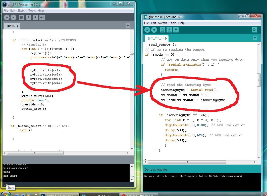 Sending serial data from processing to arduino engineer zero