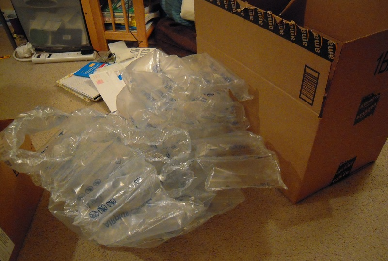Amazon ships me a 996 empty box engineer zero a lot of filler material it seems a shame that there is absolutely nothing i can do to put this stuff to use so ill just have to throw it away sciox Gallery