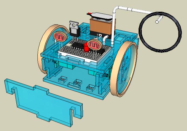 robot front part