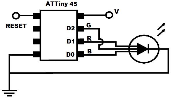 RGB timer schematic