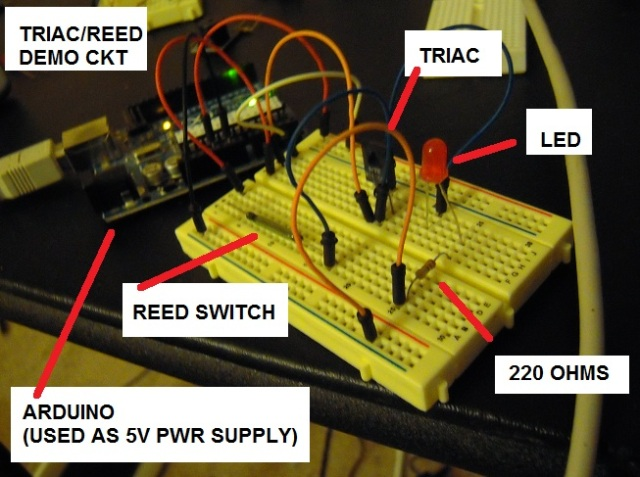 triac reed
