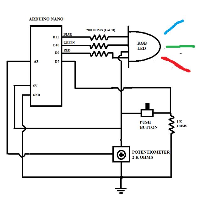Common Cathode Led Wiring Diagram  Uv Led, 3mm Led, Diode